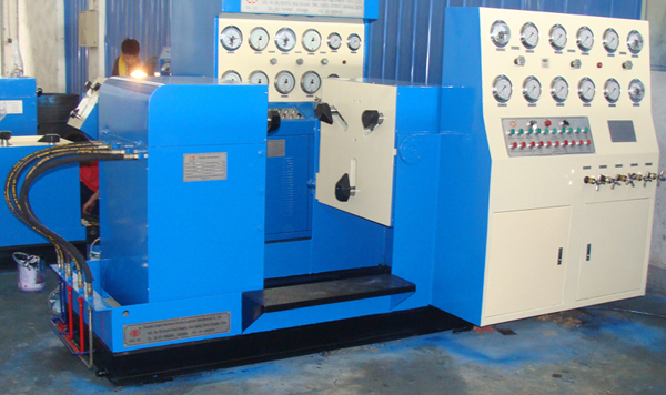 Flange End Valve Test Bench