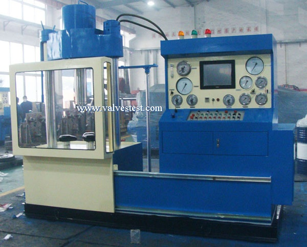 Vertical 6A Valves Test Bench